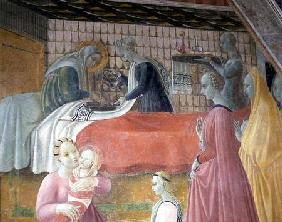 Birth of the Virgin, from the Chapel of the Assumption
