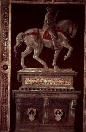 Equestrian Monument of Sir John Hawkwood (1320-94)
