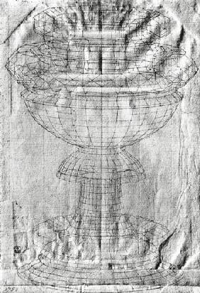 Perspective study of a chalice