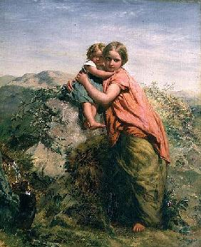 Welsh Peasant and Child
