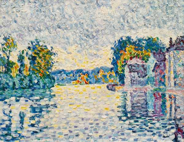 The Seine near Samois (from a series of 4 pictures)