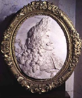Leopold I King of Hungary and Holy Roman Emperor (1640-1705) relief portrait