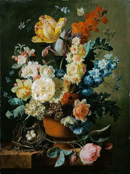 Still Life with Flower and Nest