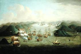 Capture of Porto Bello in 1739