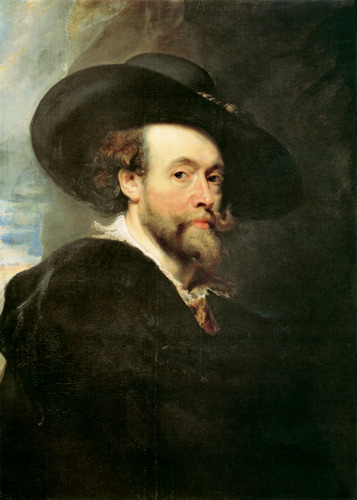 Peter Paul Rubens - autoritratto