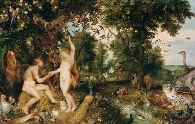 The paradise (Adam and Eva/the Fall of Man)