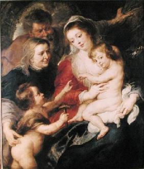The Holy Family with St. Elizabeth and the Infant St. John the Baptist