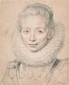 Rubens's Daughter Clara Serena (So named Maid of Honor of Infanta Isabella)