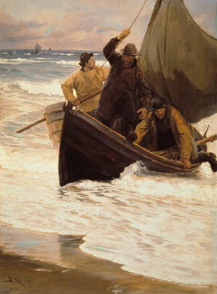 Homecoming of the fishermen (Skagen)
