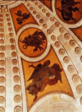Detail of angels from the dome