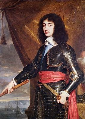 Portrait of Charles II (1630-85) 1653