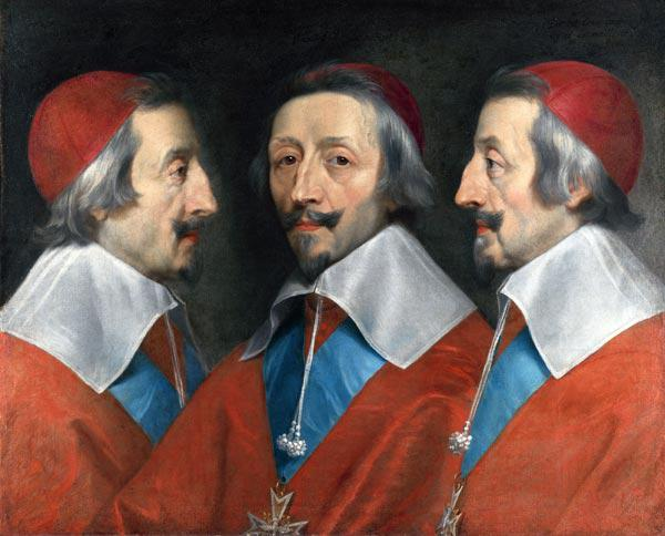 Triple Portrait of the Head of Richelieu
