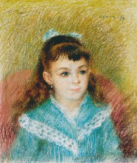 Portrait of a Young Girl (Elisabeth Maître)