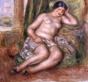 Sleeping Odalisque, or Odalisque in Turkish Slippers