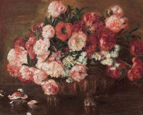 Quiet life with peonies 1872