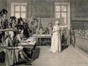 Marie-Antoinette (1755-93) of Habsbourg-Lorraine, Judged the Revolutionary Tribunal Court, 16th Octo