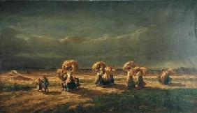Gleaners at Chambaudoin