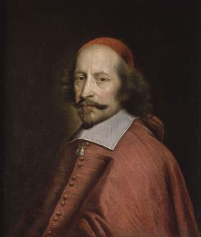 Portrait of Cardinal Mazarin