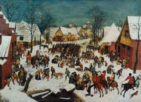 A Winter Scene with Massacre of the Innocents