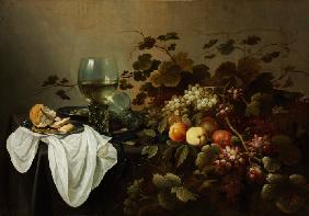 Still Life with Fruit and Roemer