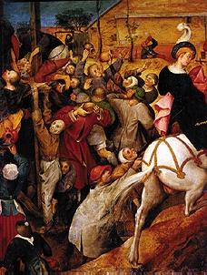 The feast of St. Martin (fragment)