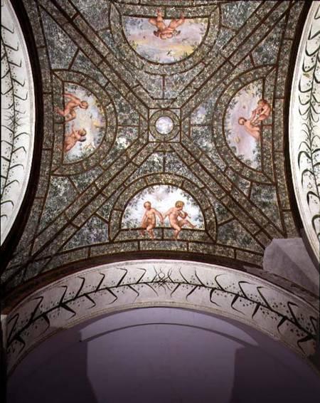 The semicircular ionic portico detail o pietro venale for Portico dello schermo prefabbricato