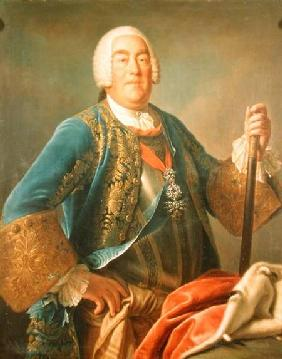 Portrait of Charles Eugene II (1728-93) Duke of Wurttemberg