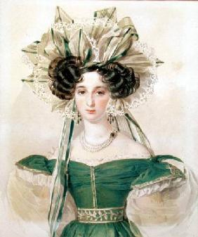 Portrait of Princess Elizabeth Vorontsova (1792-1856)