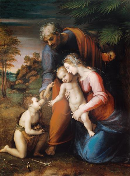 Holy Family with little Johannes