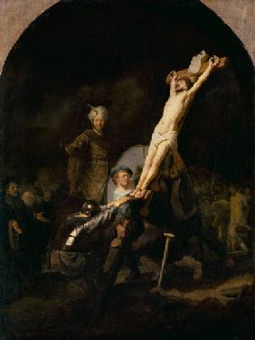 The cross raising
