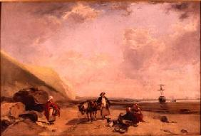 Fisherfolk on the Normandy Coast