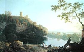 Classical Landscape: View on the Arno
