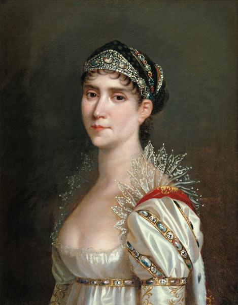Empress Josephine / Painting by Lefevre