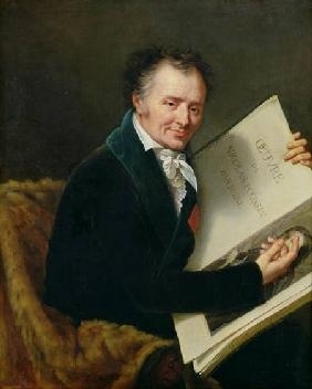 Portrait of Dominique Vivant (1747-1825) Baron Denon