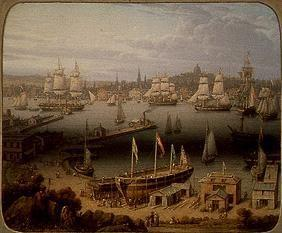The port of Boston