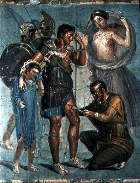 Aeneas injured, from Pompeii