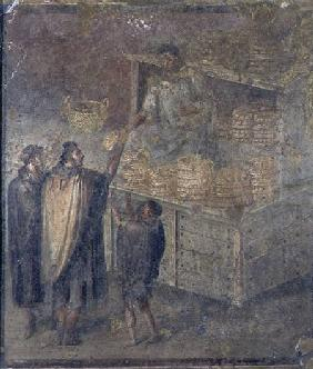 The Baker's Shop, from the 'Casa del Panettiere' (House of the Baker) in Pompeii