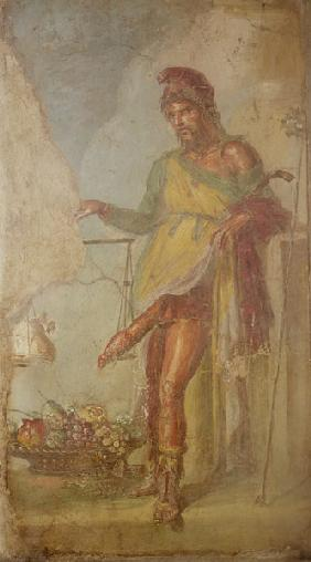 Priapus, from the Casa dei Vettii (House of the Vettii)