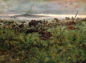 After the battle at Königgrätz.