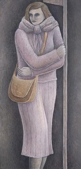 Bus Stop, 2004 (oil on canvas)
