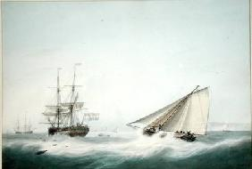 A Brig and a Cutter