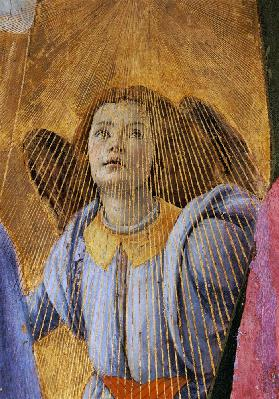 Angel, from the 'Coronation of the Virgin'