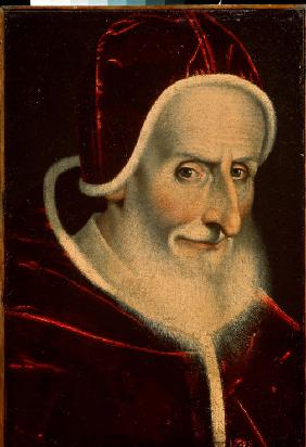 Portrait of the Pope Pius V
