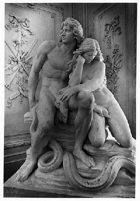 Adam and Eve and Serpent, Sommerpalais, Greiz