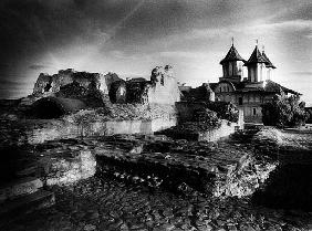 The ruins of Vlad Draculs Palace, Tirgoviste, Romania