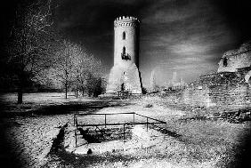 The Watchtower, Vlad Draculs Palace, Tirgoviste, Romania