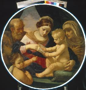The Holy Family with John the Baptist and Saint Elizabeth