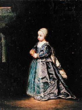 Henrietta Anne (1644-70) fifth daughter of Charles I (1600-49) of England
