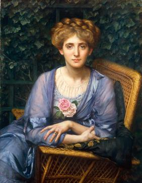 Portrait of Lady Markham