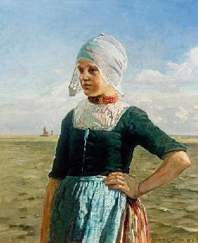 Dutch girl of the Zuyder sea